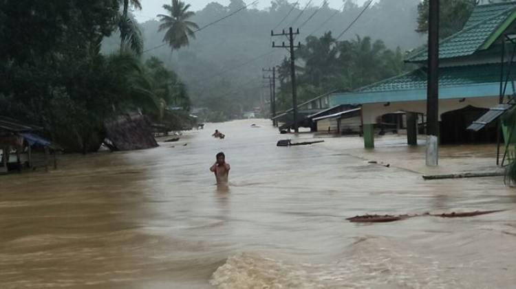 Tiga Kecamatan di Aceh Singkil Masih Terendam Banjir