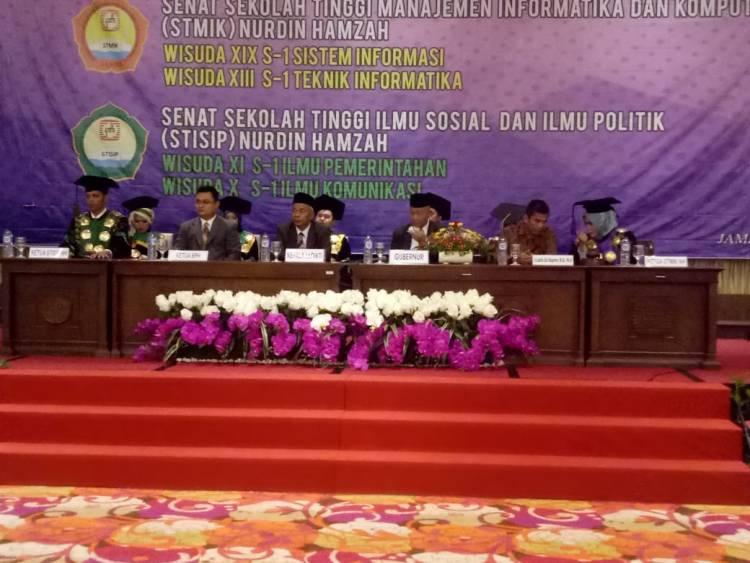 Yayasan Nurdin Hamzah Gelar Wisuda 355 Mahasiswa/Mahasiswi STMIK dan STISIP
