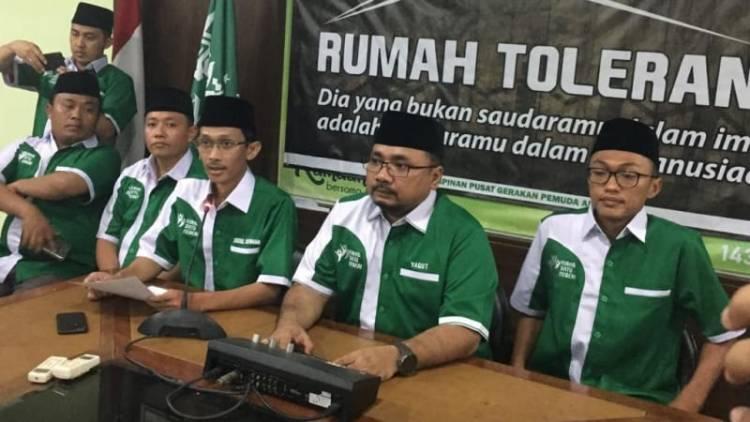 GP Ansor Tuding Ada Upaya Sistematis Kibarkan Bendera HTI