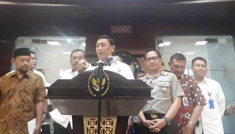 Larang Demo Bendera Tauhid, Wiranto: Serahkan Saja ke Kepolisian