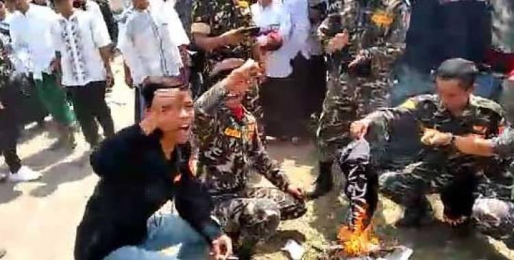 Setelah Pembawa Bendera, Polisi juga Tetapkan Dua Pembakar Bendera Tauhid Tersangka