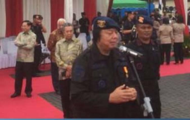 Ini Alasan Brimob Anugerahkan Bos Mayapada Group Warga Kehormatan
