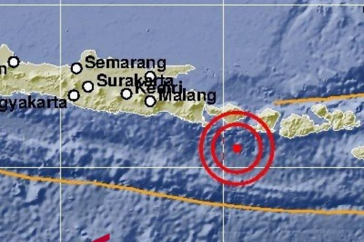 Gempa 5,3 SR Guncang Bali