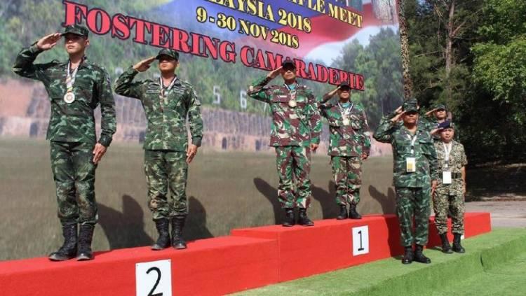 Hebat! Kontingen TNI-AD Raih 28 Emas di AARM