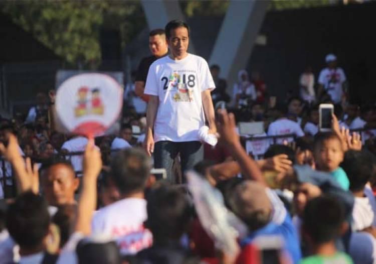 Aminah Hadir Jam 5 Ingin Ikut Jalan Sehat Bersama Jokowi