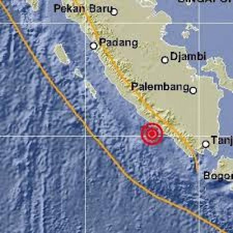 BMKG: Gempa 3,1 SR di Kaur Bengkulu