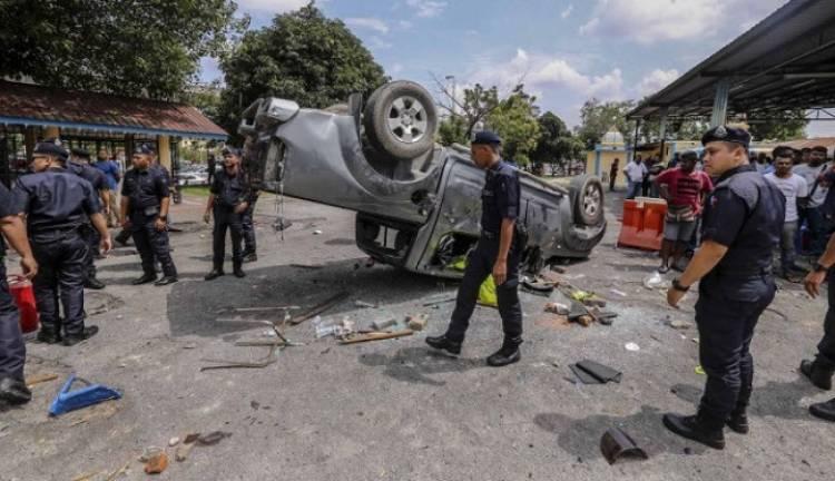 Kerusuhan Kuil Hindu Sri Mariamman, Polisi Malaysia Tangkap 4 Pelaku