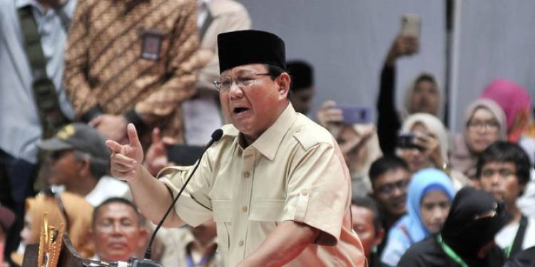 Prabowo Sebut Indonesia Darurat Korupsi, Seperti Kanker Stadium Empat