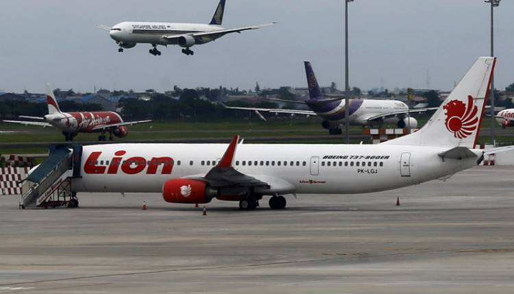 KNKT Sebut Lion Air PK-LQP Sejak Denpasar Tak Laik Terbang