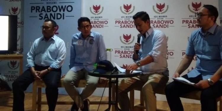 Dana Kampanye Prabowo-Sandi Naik 24 Persen