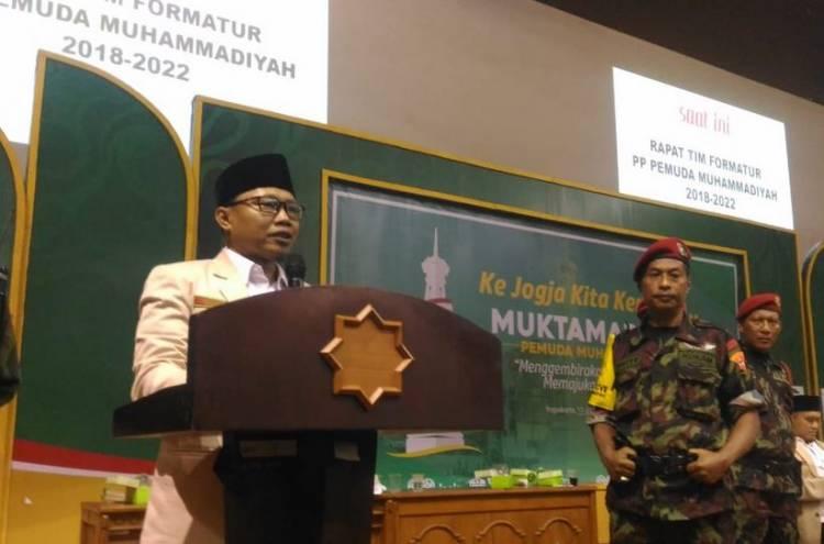 Sunanto Terpilih Ketua Umum PP Pemuda Muhammadiyah, Ini Pesan Dahnil