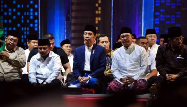 Seruan Jokowi: Umat Islam Harus Tetap Optimistis, Jangan Putus Asa
