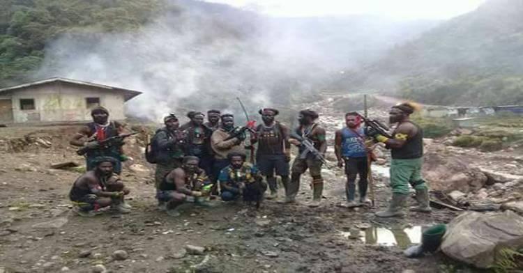 31 Pekerja Proyek Jembatan Trans Papua Ditembak Mati KKB