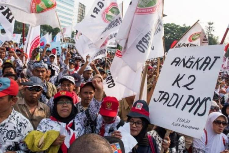 Guru Honorer Nilai PP 49/2018 untuk Calon Pegawai, Bukan GTT
