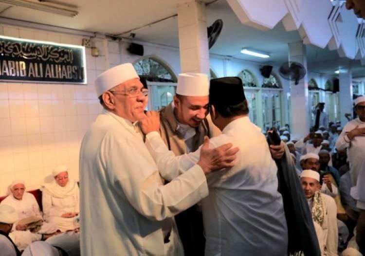 Habib Ali Doakan Semoga Allah Beri Kemudahan Prabowo