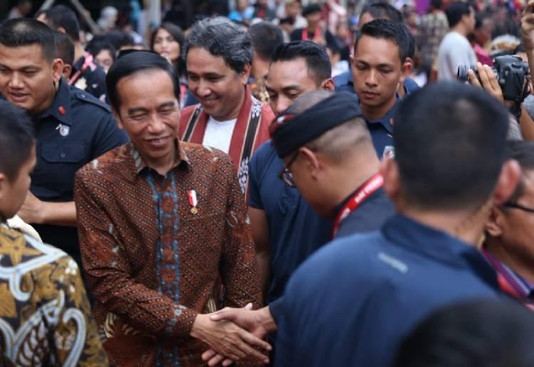 Jokowi Ingatkan Jaga Kebudayaan Indonesia