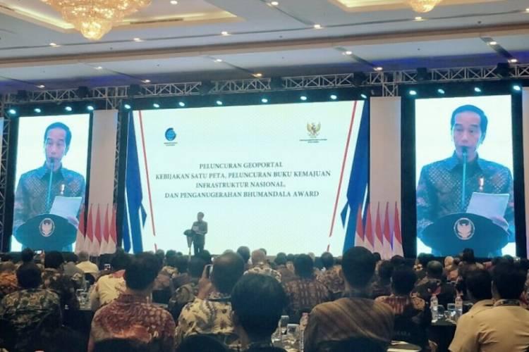 Presiden Yakin Program Satu Peta Bisa Hapus Urusan Perizinan