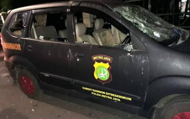 Polsek Ciracas Dibakar, POM TNI-Polda Selidiki Keterlibatan Oknum TNI