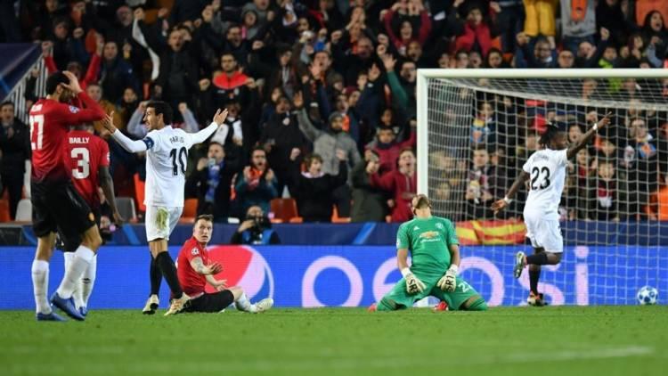 Gol Bunuh Diri, Manchester United Kalah Tipis dari Valencia