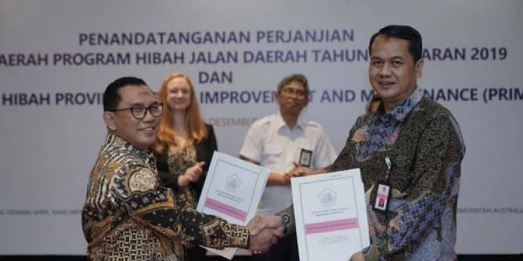 Pemerintah Luncurkan Program Hibah Jalan Daerah