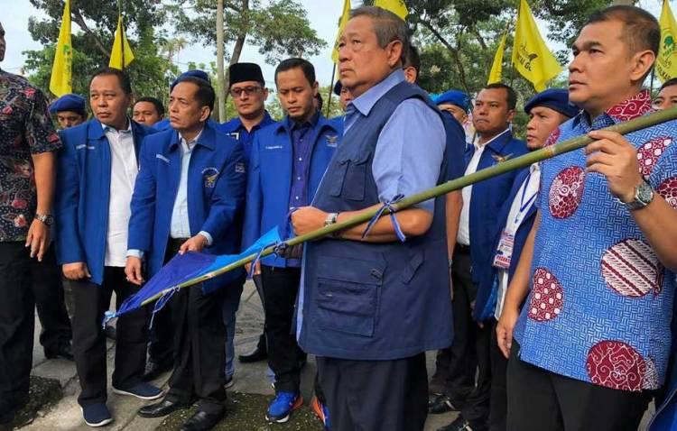 Kapolda Riau Tetapkan Tersangka Perusak Atribut Demokrat
