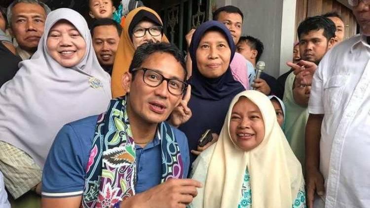 Soal Iklan KPU Tak Pasang Gelar, Sandiaga: Masyarakat Sendiri Menilai Rekam Jejak Calon