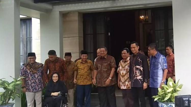 Prabowo Subianto Tiba di Kediaman SBY