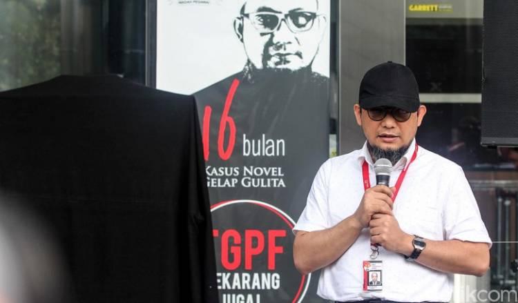 KPK Rekomendasi Komnas HAM Terkait Kasus Novel Titik Temukan Pelakunya..
