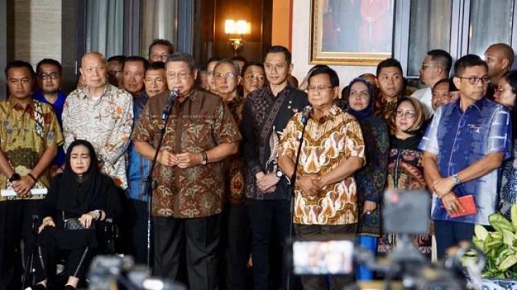SBY All Out Kampanye Prabowo-Sandi Mulai Januari