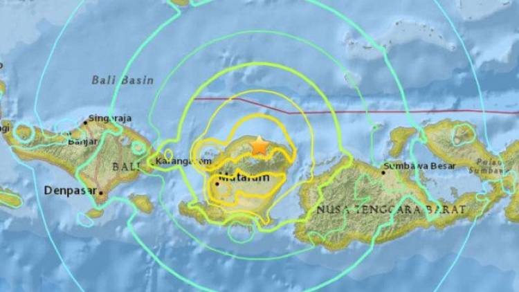 Lombok Gempa Lagi 5.0 SR