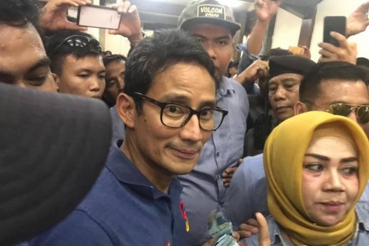 Haji Anwar Mengeluh Langkanya Solar, Sandiaga Uno Berjanji Cari Solusi