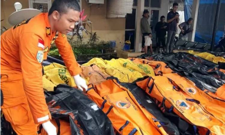 Korban Tsunami Selat Sunda Capai 429 Jiwa, Ini Rinciannya…