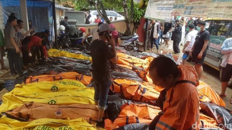 Delapan Korban Tewas Akibat Tsunami Belum Teridentifikasi, Ini Ciri-cirinya…