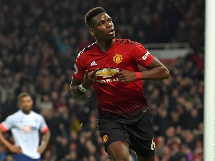Sang Inspirator! Gol Pogba Inspirasi Kemenangan Manchester United
