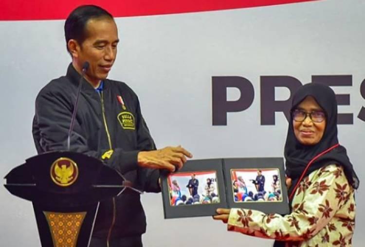 Presiden Jokowi Biasa Beri Hadiah Sepeda, Kini Gantinya…