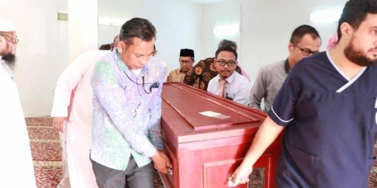 KJRI Jeddah Kawal Pemulangan Jenazah Paman Jokowi