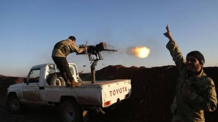 Perang Berkecamuk Antar-Gerilyawan Suriah