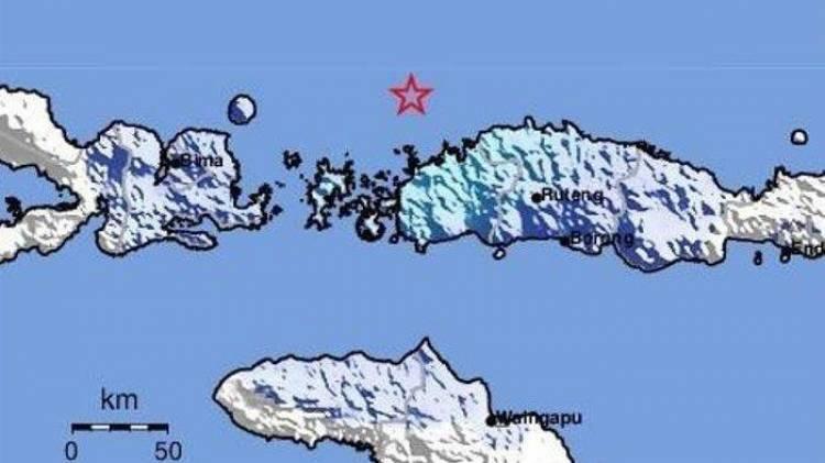 Gempa Tektonik 5.0 Sr Guncang Manggarai Barat