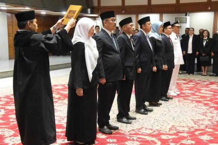 Rekomendasi KASN, Anies Lantik Wakil Walikota dan Enam Kepala Dinas