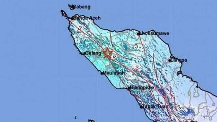 Lagi! Gempa Darat 5,1 SR Guncang Aceh Barat