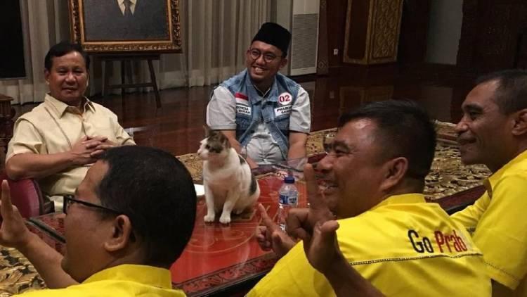 Undangan Pertemuan Prabowo dan SBY Menyebar BPN Prabowo-Sandi Malah Kaget