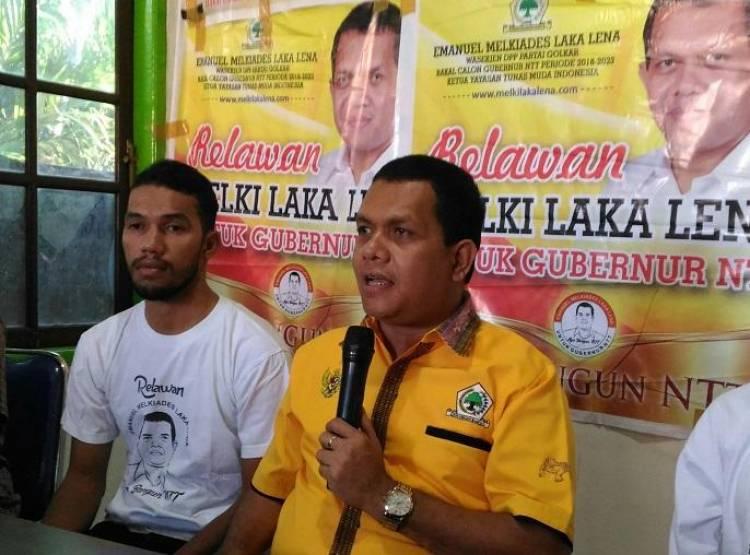 Ketua DPD Golkar NTT Minta Kader Tak Emosional