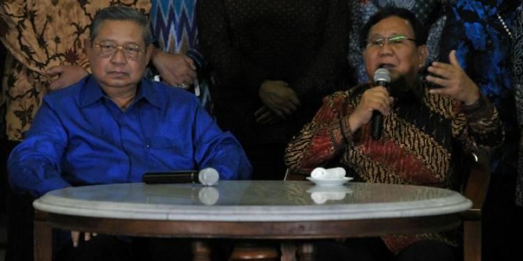 Soal Pertemuan SBY, Prabowo: Koalisi kan Harus Banyak Berbincang