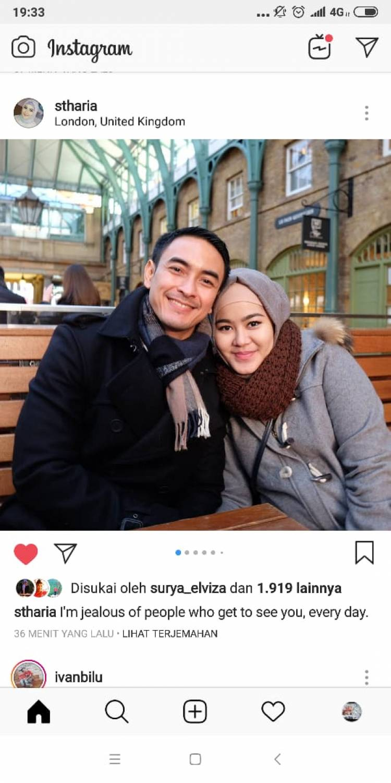 Ditinggal Zumi Zola, Status Instagram Sherin Tharia Ini Bikin Nyesek