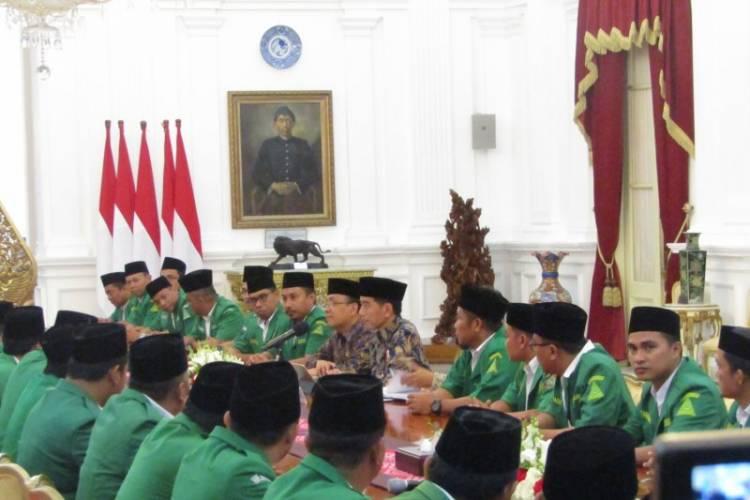 Gelisah Kondisi Tanah Air, GP Ansor Temui Presiden di Istana