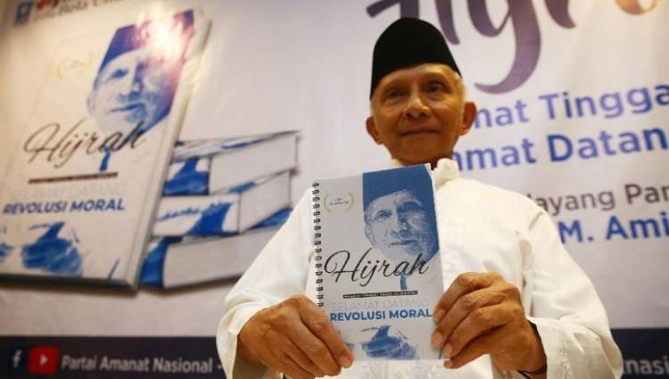 Amien Rais Ingin Akhiri Revolusi Mental Jokowi, Ganti Revolusi Moral