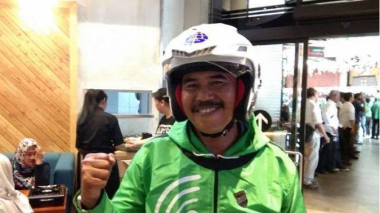 Begini Kisah Driver 001 Gojek dari Dikejar Pakai Golok Hingga Kasih Anak Nama Nadiem