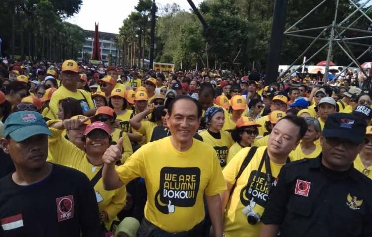 Alumni UI Dukung Capres 01: Jokowi Bukan Tipikal Omong Doang