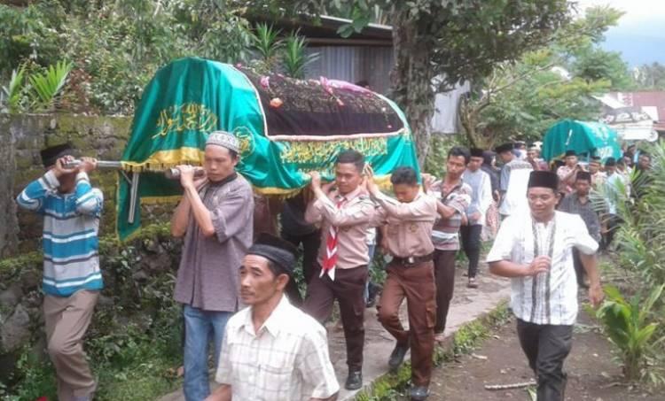 Sedih! Sebelum Dilantik Pramuka, Melan dan Keluarga Tewas Dibunuh