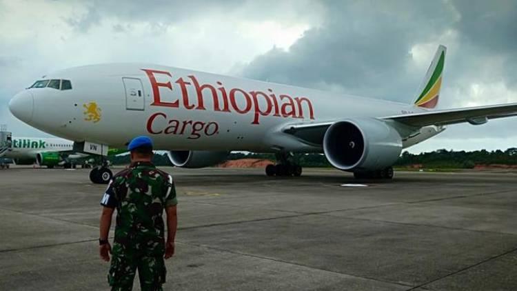 Ternyata Ini Alasan Penurunan Paksa Pesawat Kargo Ethiopian Air